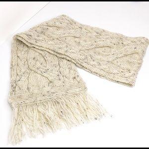 Aran Crafts 100% Wool Scarf